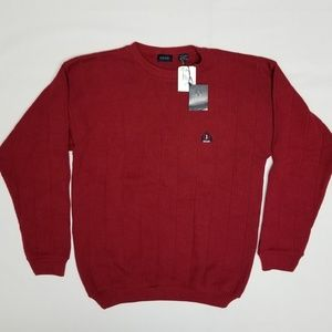 IZOD crewneck sweater.